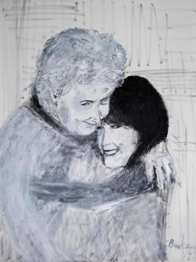 L'abbraccio (unico)